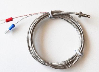 can nhiệt pt100 3 dây ren m6 m8