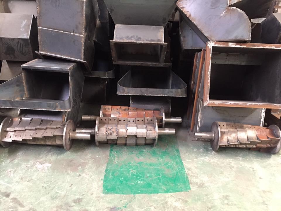 nhà máy sản xuất máy băm phế liệu